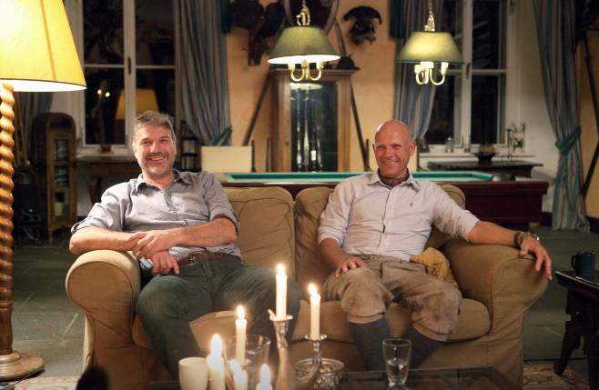 Synové Kristiny Colloredo-Mansfeldové Leonard (vlevo) aDerek.